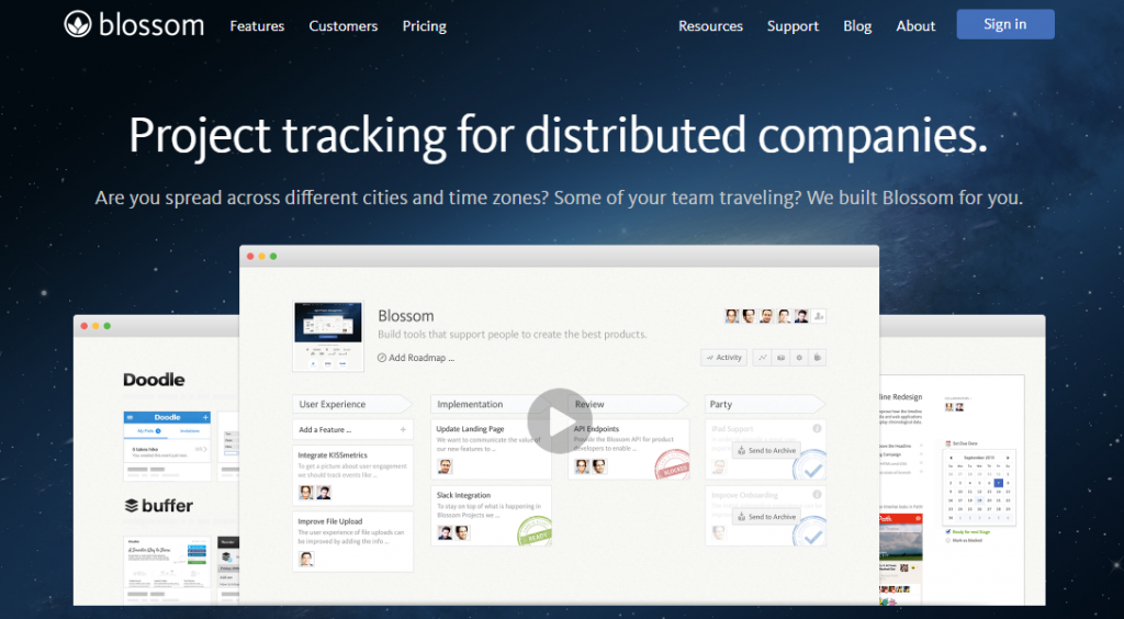 blossom-project-tracking