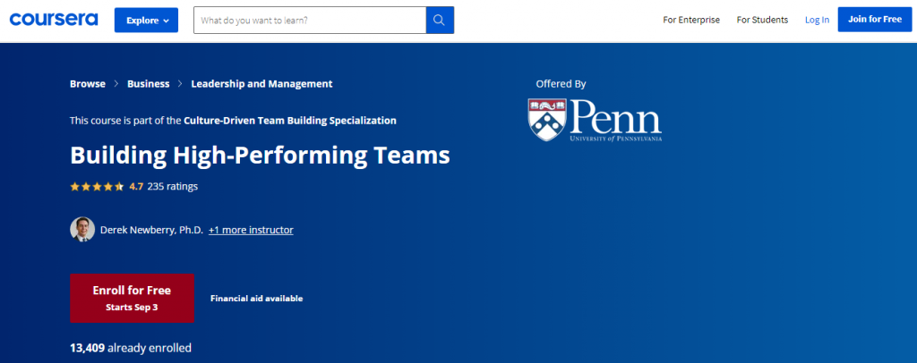 building-high-peformance-teams-coursera-courses-to-increase-team-productivity