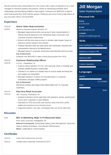 enfold-resume-template